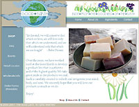Go To Good Earth Soap Main Page